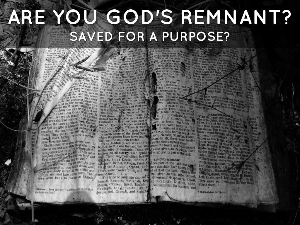 God's Remnant